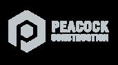 Peacock Construction Logo